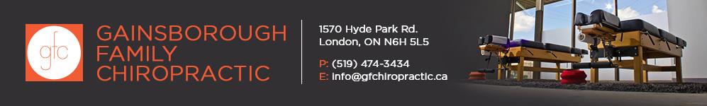 Gainsborough Family Chiropractic | London Ontario Chiropractor